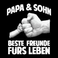 Papa und Sohn Familie Freunde fürs Leben Geschenk