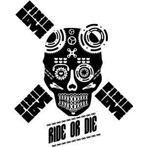skull riding ride or die