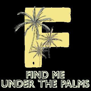 Palme Typografie
