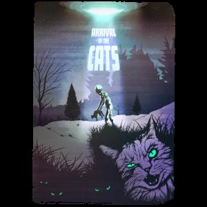 ARRIVAL OF THE CATS - Ankunft der Katzen