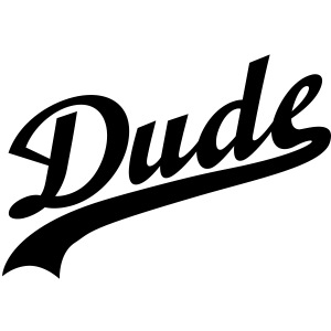 Dude   Friend