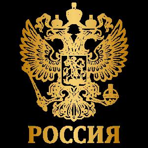 Russland Flagge Land Wappen Doppelkopf Geschenk