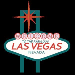 Süßes Las Vegas Logo Geschenk Idee