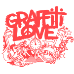 cosmos1 red graffiti love