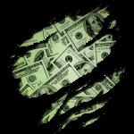 cool dollar euro geld