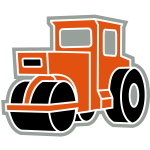 3 col - Dampfwalze Traktoren Steam-powered rollers Tractors
