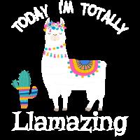 Today I'm Llamazing