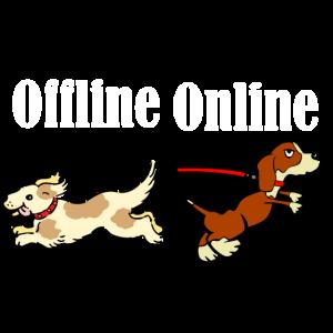 Hund online/offline
