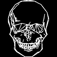 Geometrie Totenschaedel Geschenk Idee
