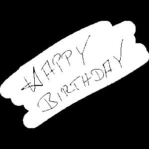 Happy Birthday Alles gute zum Geburtstag