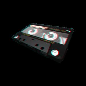 Kassette ( 3D / anaglyph )