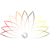 Farbenfrohe Lotusblume - Meditation Zen