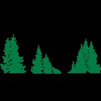 Watzmann mit Wald
