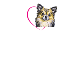 Chihuahua Damenshirt , Kindershirt mit Spruch
