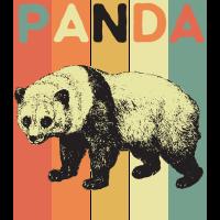 Panda Pandas Tier Geschenk