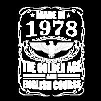 1978 Geburtsjahr Geburtstag Geschenkidee Bestsell