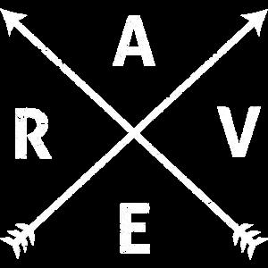 RAVE Raver EDM Musik Festival Shirt Geschenk