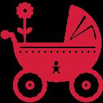 baby pram / Kinderwagen (2c)