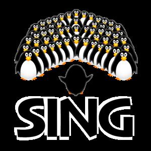 Sing Pinguin-Chor