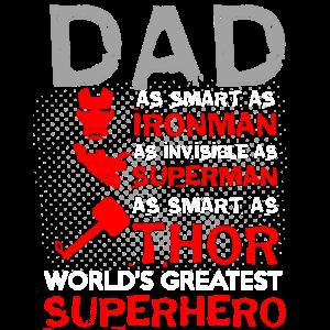 DAD SUPER HERO Design