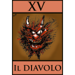 Tarot devil card