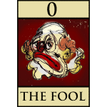 Tarot fool card