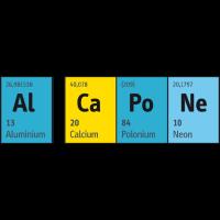Periodensystem der Elemente Al CaPoNe (Al Capone)