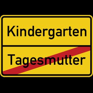 Ortsschild Tagesmutter Kindergarten