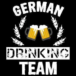 German Drinking Team Shirt
