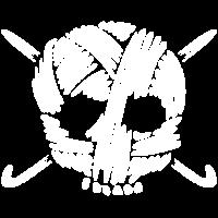 Häkeln und Stricken - Schädel aus Wolle