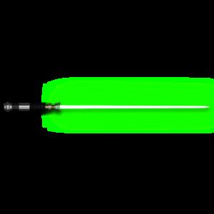 Poster Laserschwert
