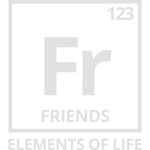 Elements of life: 123 friends Periodensystem