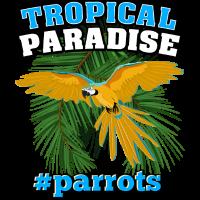 Tropisches Paradies # Papageien