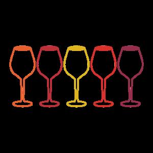 Wein Weinglas Weinliebhaber Winzer Retro Geschenk