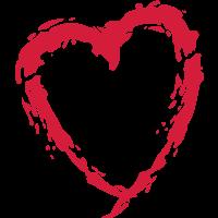 Pinsel Herz