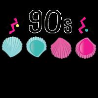 Leckmuschel 90er Jahre Muschel 90s