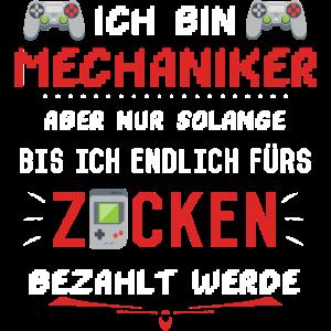 Mechaniker Mechatroniker Freund Computerspiele