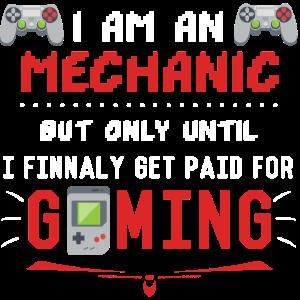 Mechaniker Geschenk Gaming Lustig