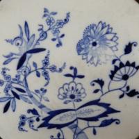 Blaue Blumen Kachel
