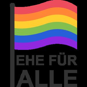 Ehe Homosexualität Regenbogen Geschenk Idee Flagge