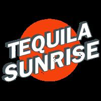 Tequila Sunrise Reto Vintage Logo