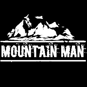 Mountain Man Gipfelstürmer Berg Naturliebhaber