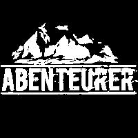 Abenteuerer Design mit Bergen & Abenteuer