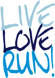 Sprüche- Kult- & Fun-Shirt: Live Love Run!
