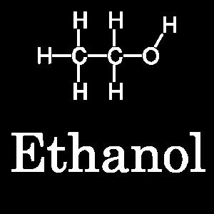 Ethanol Alkohol Chemie Strukturformel trinken