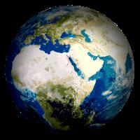 Weltkugel Erde
