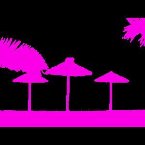 Strand Pastell Pink/Lila
