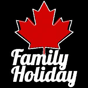 Canada Family Holiday Vintage