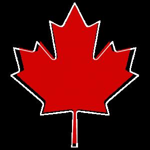 Kanada Ahorn Blatt Vintage Logo modern