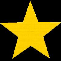 Star-gelben Stern